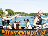 Das Hundekanu - mit dem Hund aufs Wasser